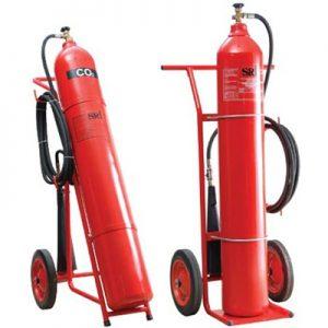 Bình chữa cháy CO2 tên lửa