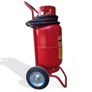 Bình chữa cháy bột xe đẩy 35kg