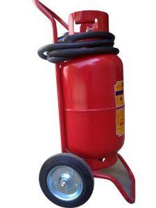 bình chữa cháy xe đẩy 35kg