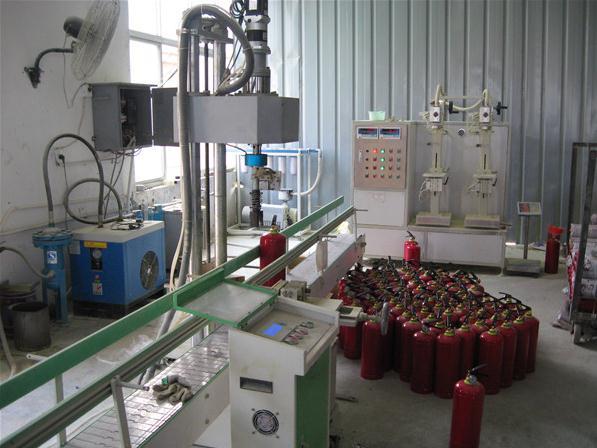 nạp bình chữa cháy tại khu công nghiệp nhơn trạch
