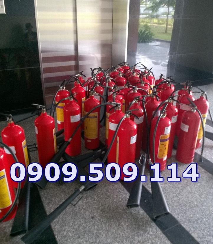 nạp bình chữa cháy tại quận 12